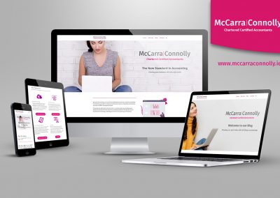 McCarra Connolly Rebrand